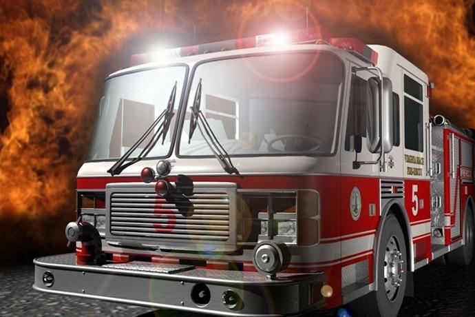 Fire truck_6762589869550356244