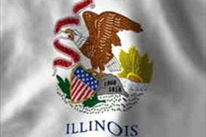 Illinois flag_-4827806131552958419