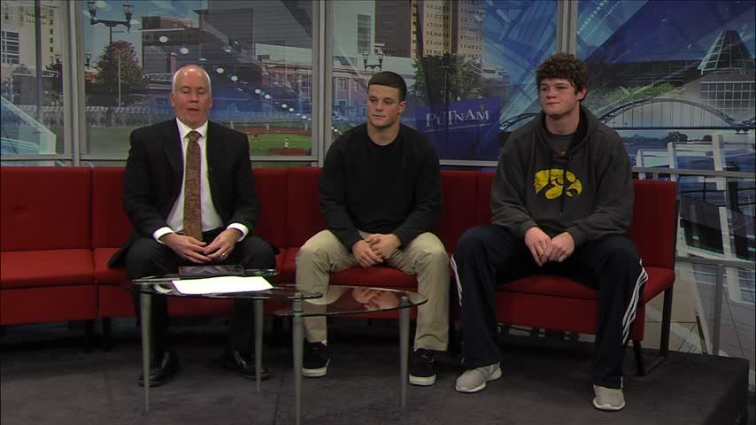 Bettendorf Football stars on FOX 18 Sports Sunday