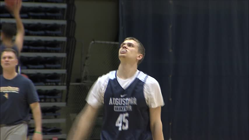 Augustana getting ready for Final Four