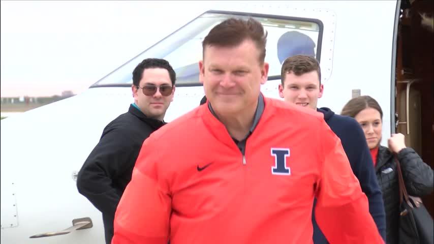 Illinois welcomes new head basketball coach