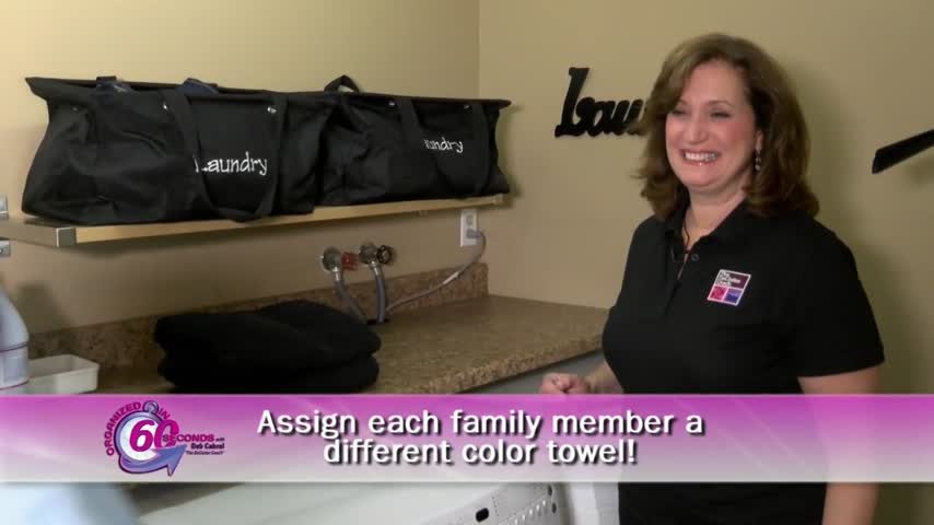 Organizer-Family Towel Organization