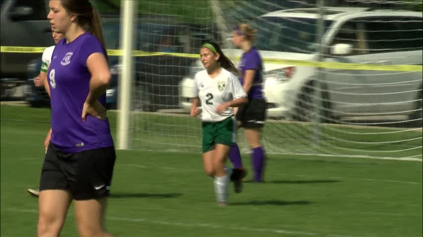 Alleman Girl's Soccer falls to Dixon