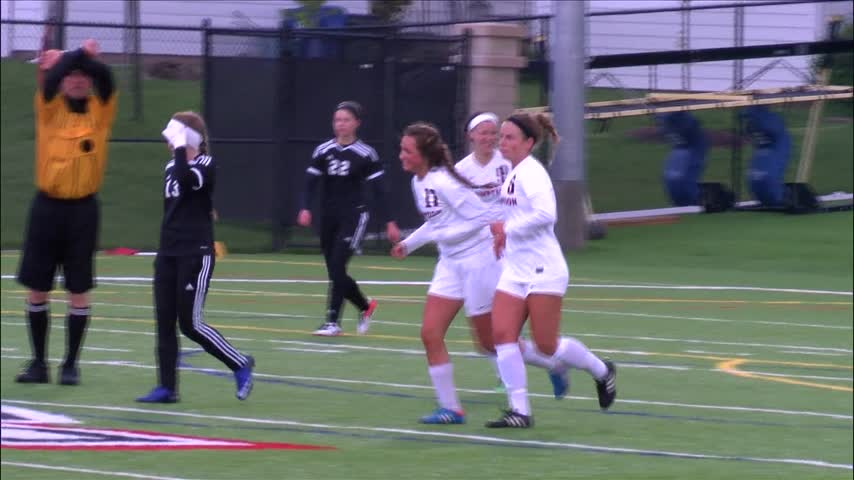 Assumption Girls Soccer wins 6-0 on May 1.