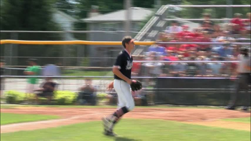 Assumption Baseball vs West on June 19.