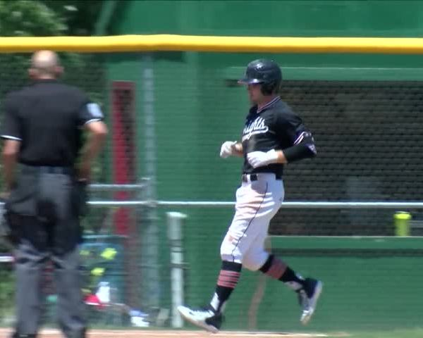 Assumption baseball sweeps West