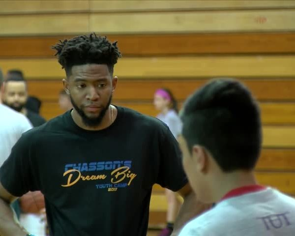 Chasson Randle Basketball Camp.