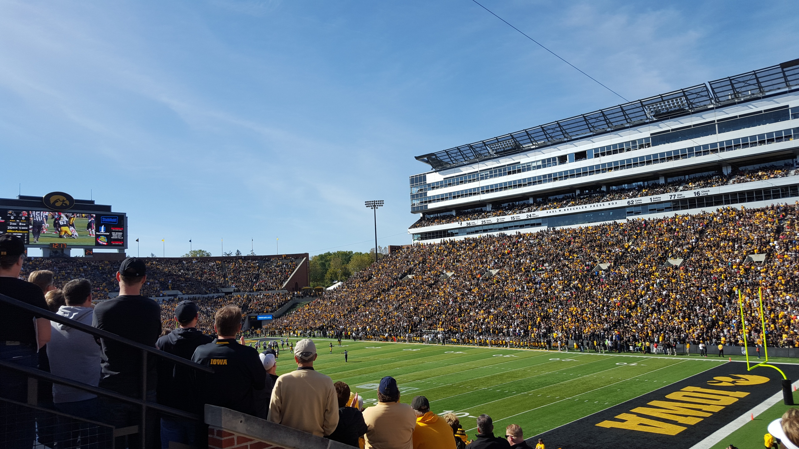 Iowa Hawkeyes Football Schedules And History