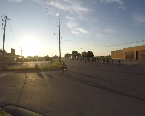 RAGBRAI timelapse video