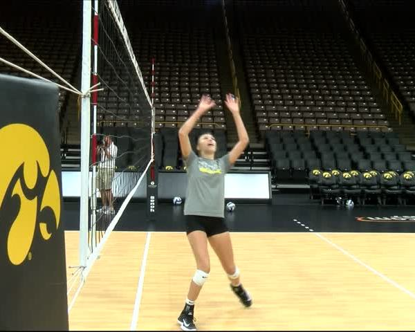 Iowa Volleyball Media Day
