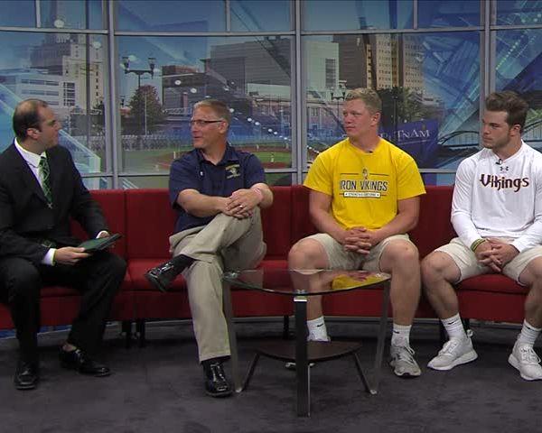 Augustana Football on Fox 18 Sports Sunday