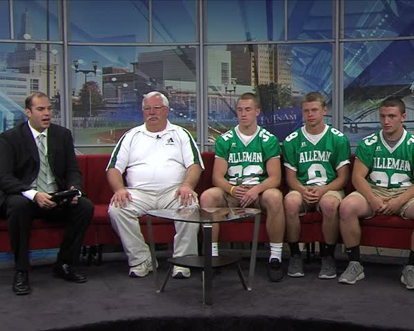 Alleman football on Fox 18 Sports Sunday Part Two