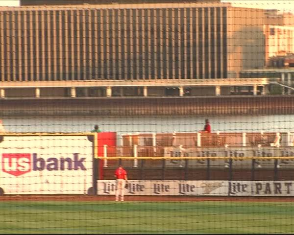 River Bandits beat Peoria 8-5 and win series.