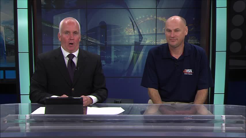 WRMJ Radio Jim Taylor on FOX 18 Sports Sunday.