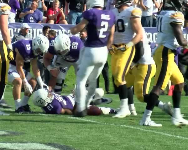 Iowa football mistakes at Northwestern