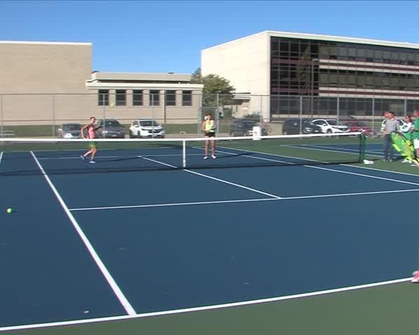 Alleman Tennis players State bound.