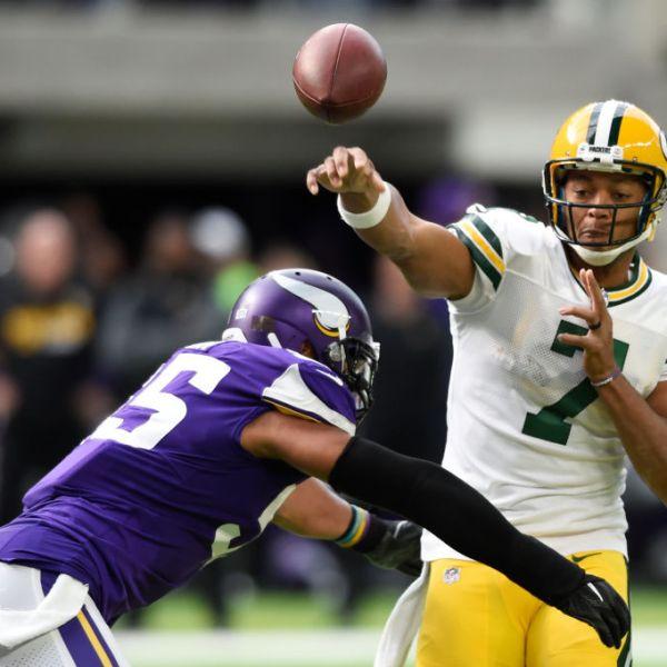 Packers Brett Hundley vs Minnesota