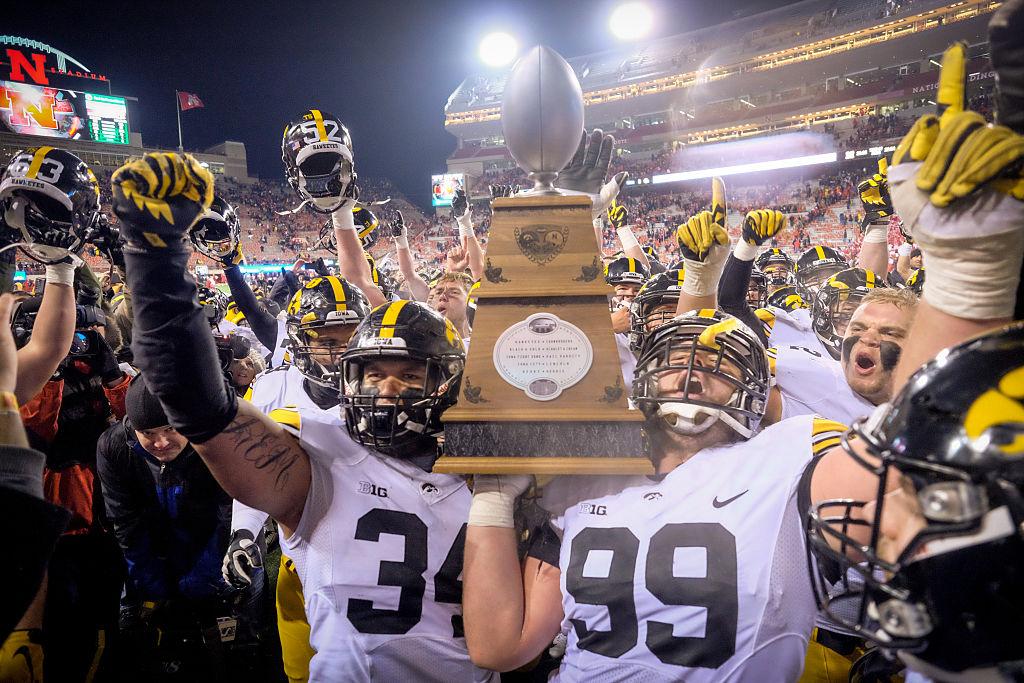 Heroes Trophy, Iowa at Nebraska