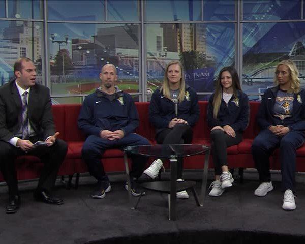 Part one: Augustana women's basketball on Fox 18