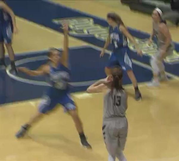 Augustana women's basketball wins big at home
