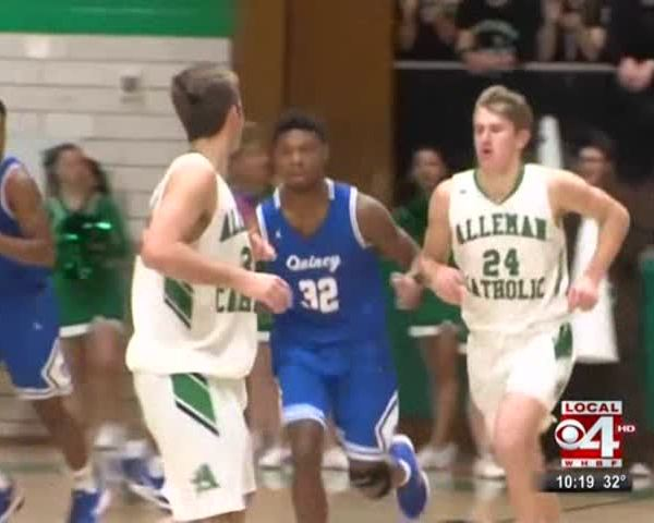 Alleman falls to Quincy