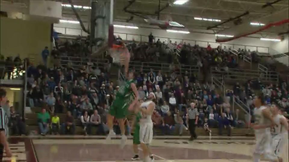 Alleman Basketball wins Rockridge Regional