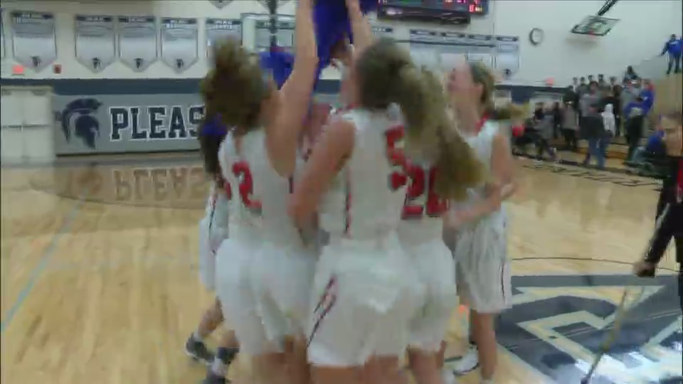 Assumption Girls Basketball State Bound