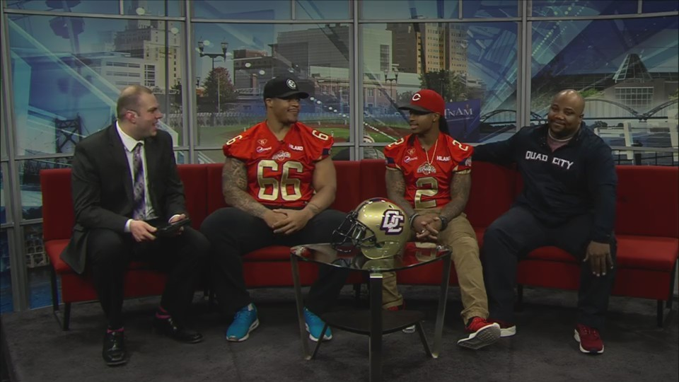 Quad City Steamwheelers on Fox 18 Sports Sunday Part One