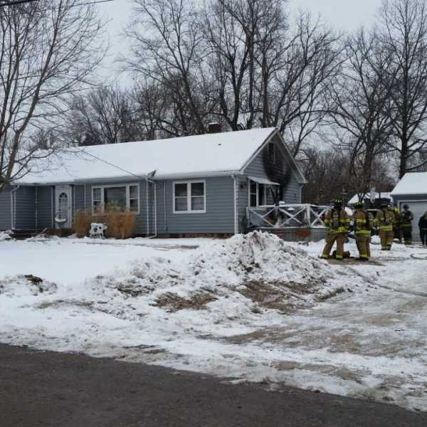 Fire in Moline at 3200 14th