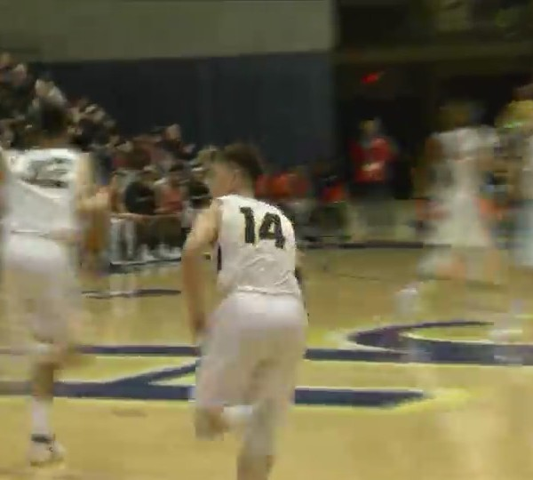 Augustana wins 123-111 in NCAA opener.