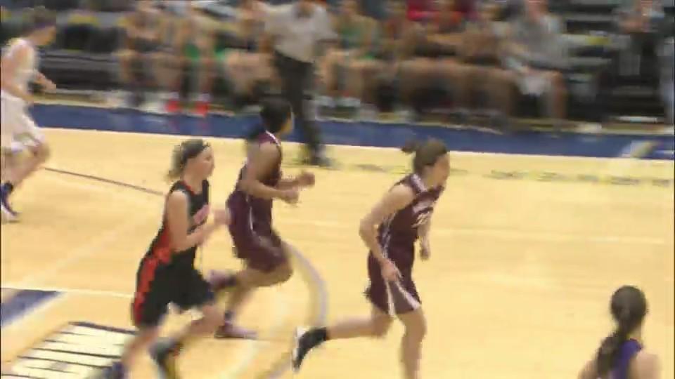 Illinois Girls win Senior game 86-57