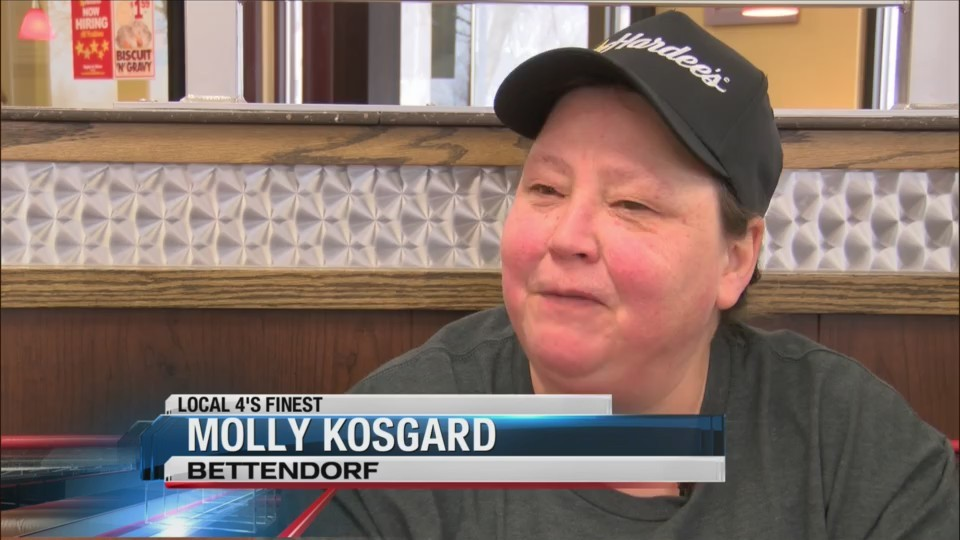 Local Hardee's employee works to brighten every customer's day