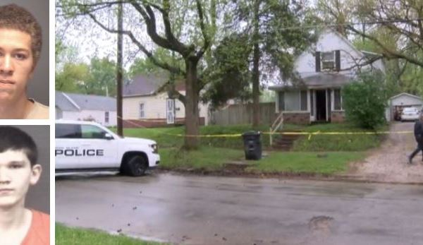 Kire Carr, Trey Gustafson and the crime scene