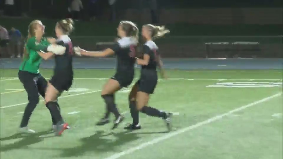 Assumption girls soccer defeats PV on penalty kicks