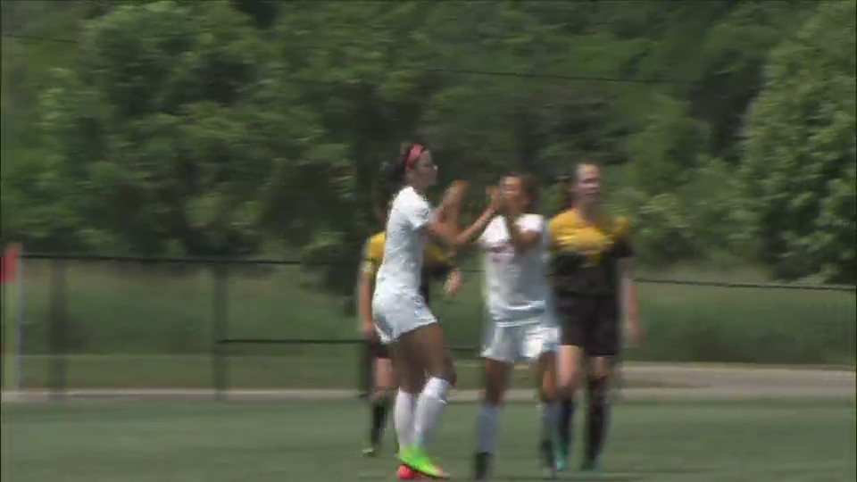Assumption Girls Soccer wins 5-1 in Semifinal.