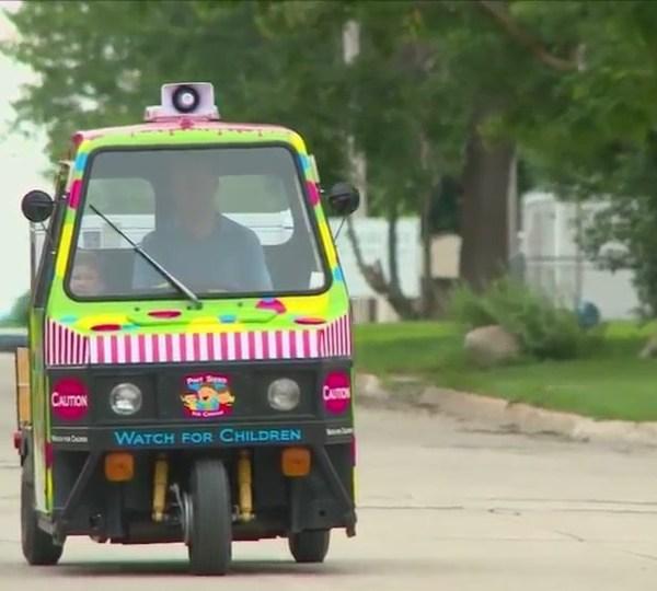 Family brings ice cream truck to neighborhoods