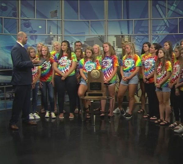 Part two: Assumption girls soccer on Fox 18 Sports Sunday