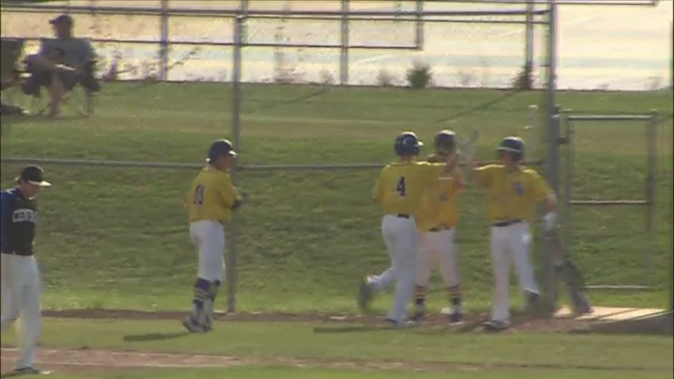 Central and North split baseball doubleheader