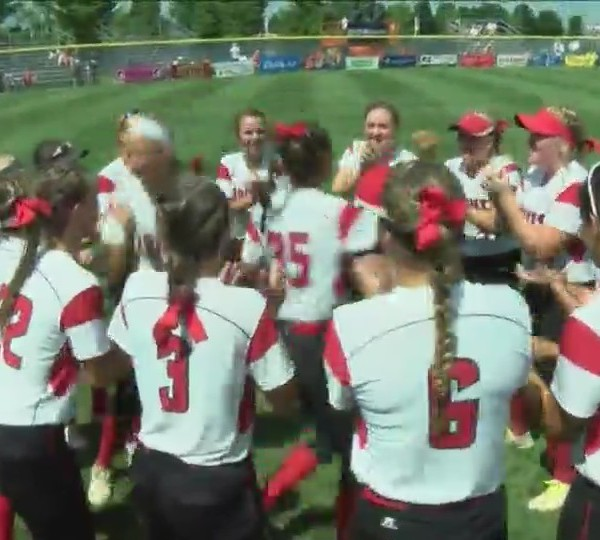 Part one: Assumption softball on Fox 18 Sports Sunday