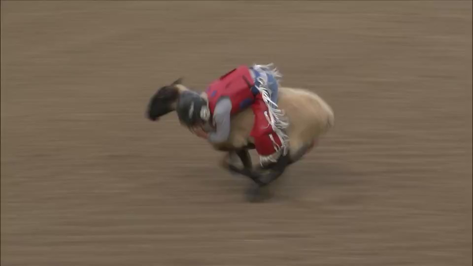 Mutton bustin' gets kids hooked on New Windsor Rodeo