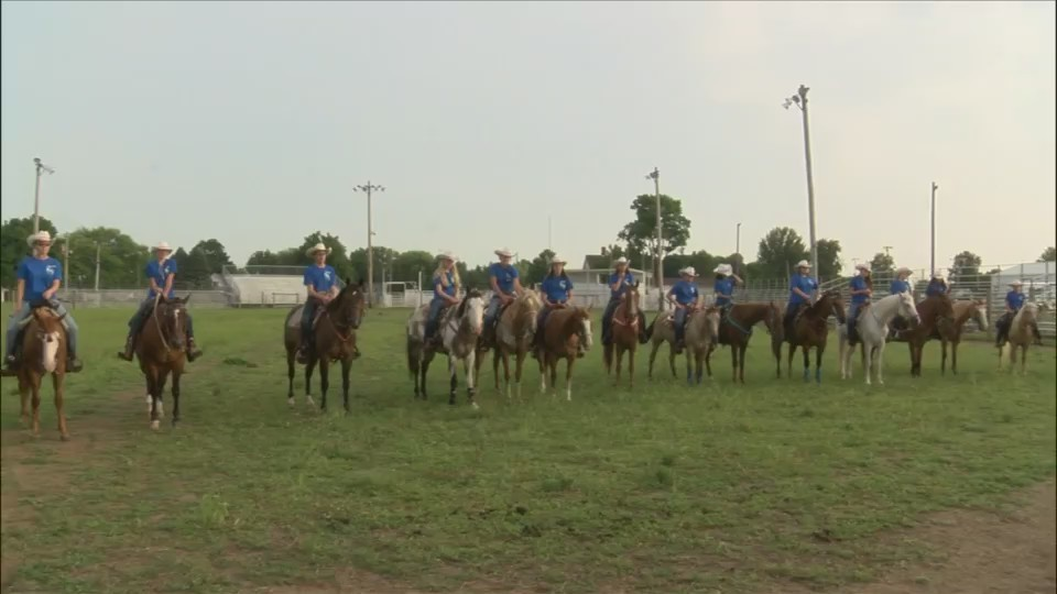 New Windsor Drill Team is a rodeo tradition