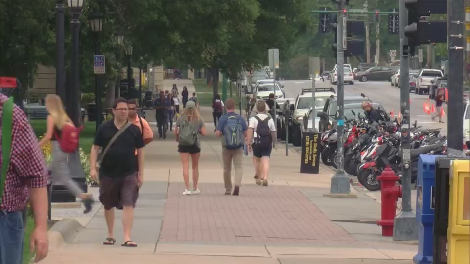 Students at the University of Iowa react to Mollie Tibbetts death