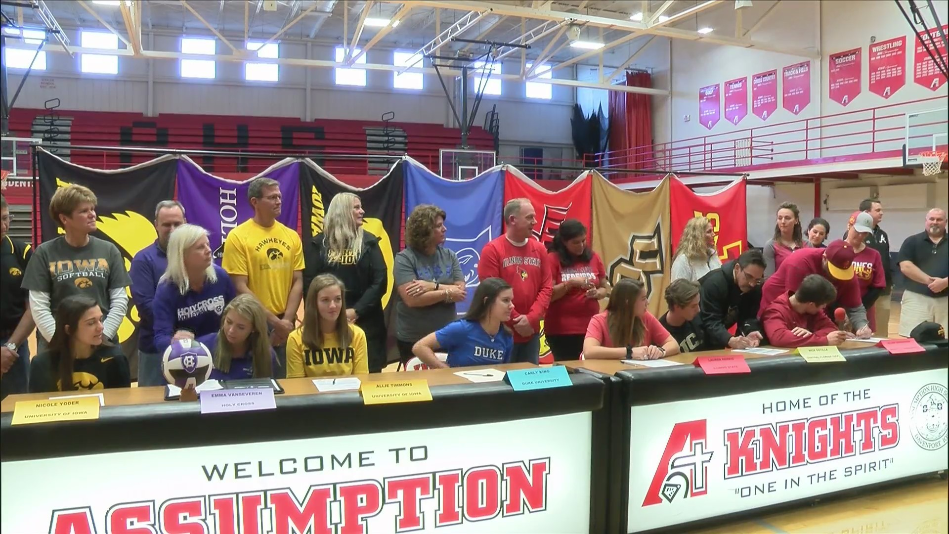 Assumption Signing Day