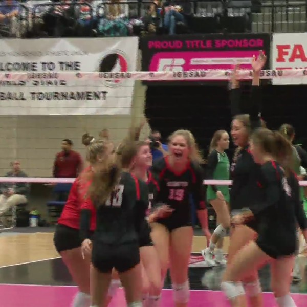 Assumption Volleyball falls at State.