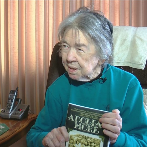 90 year old writes book