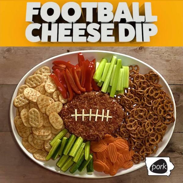 Football Cheese Dip