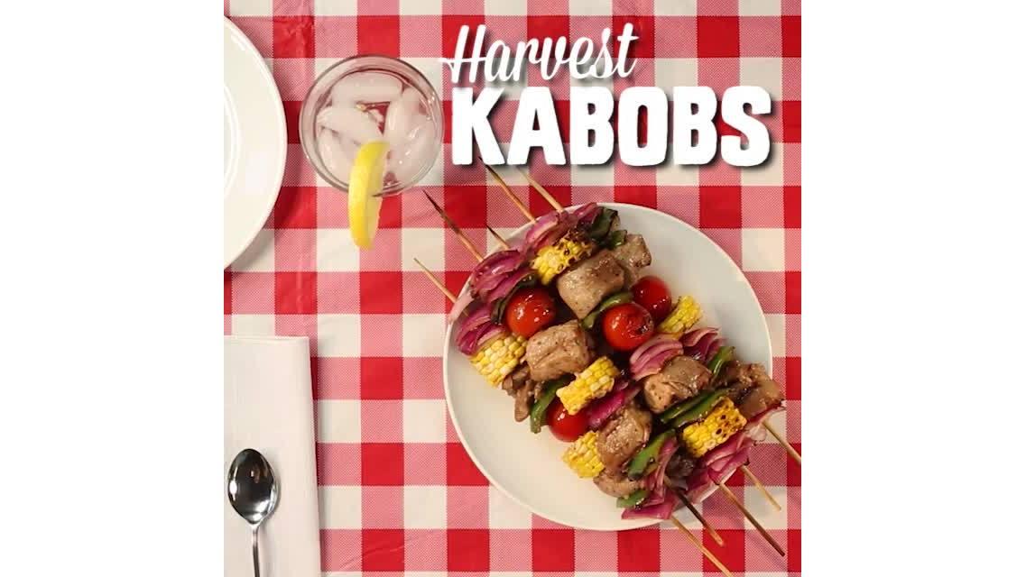 Harvest Pork Kabobs