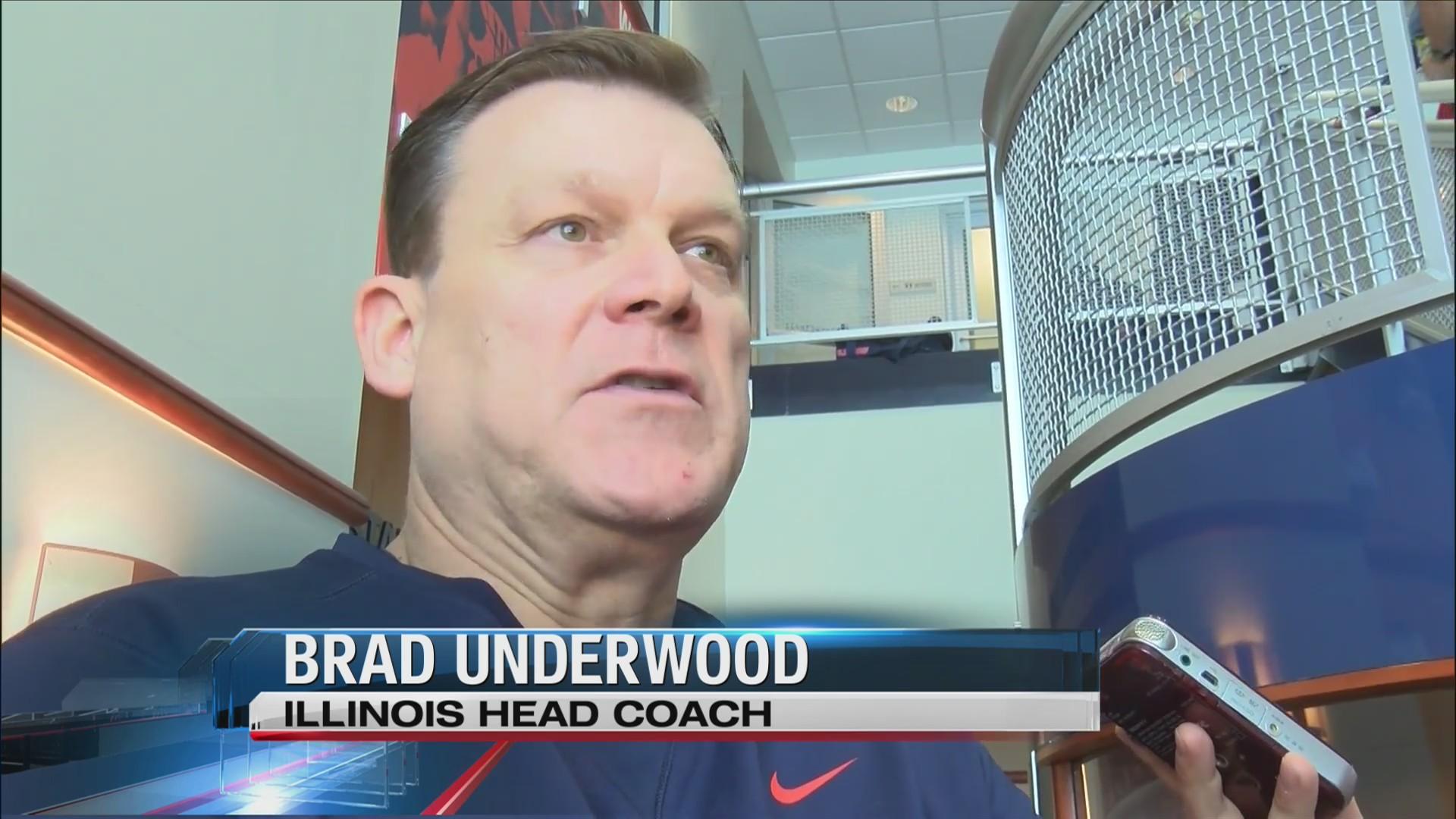 Illinois prepares for Iowa