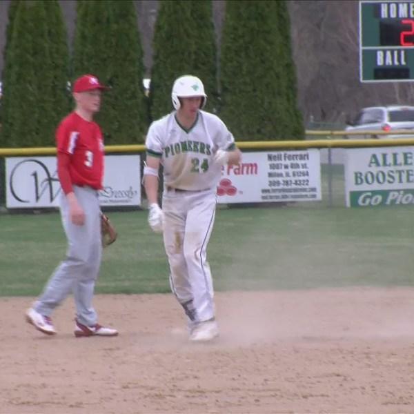 Alleman Baseball defeats Morrison.