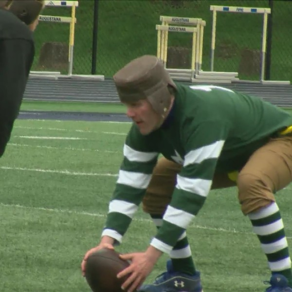Draft in Rock Island: 1920's football game recreated
